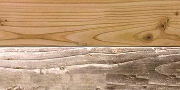 Timber will gradually turn more gray