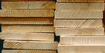 Timber expands and contraction